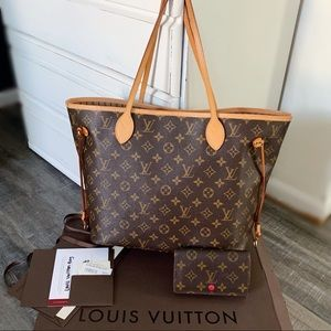 ✨Louis Vuitton neverfull MM and wallet